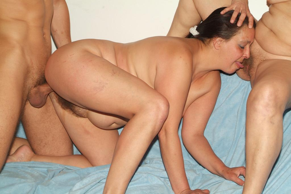 White women missionary position black men